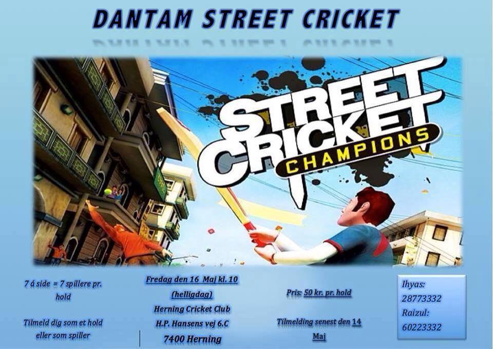 Dantam Street Cricket
