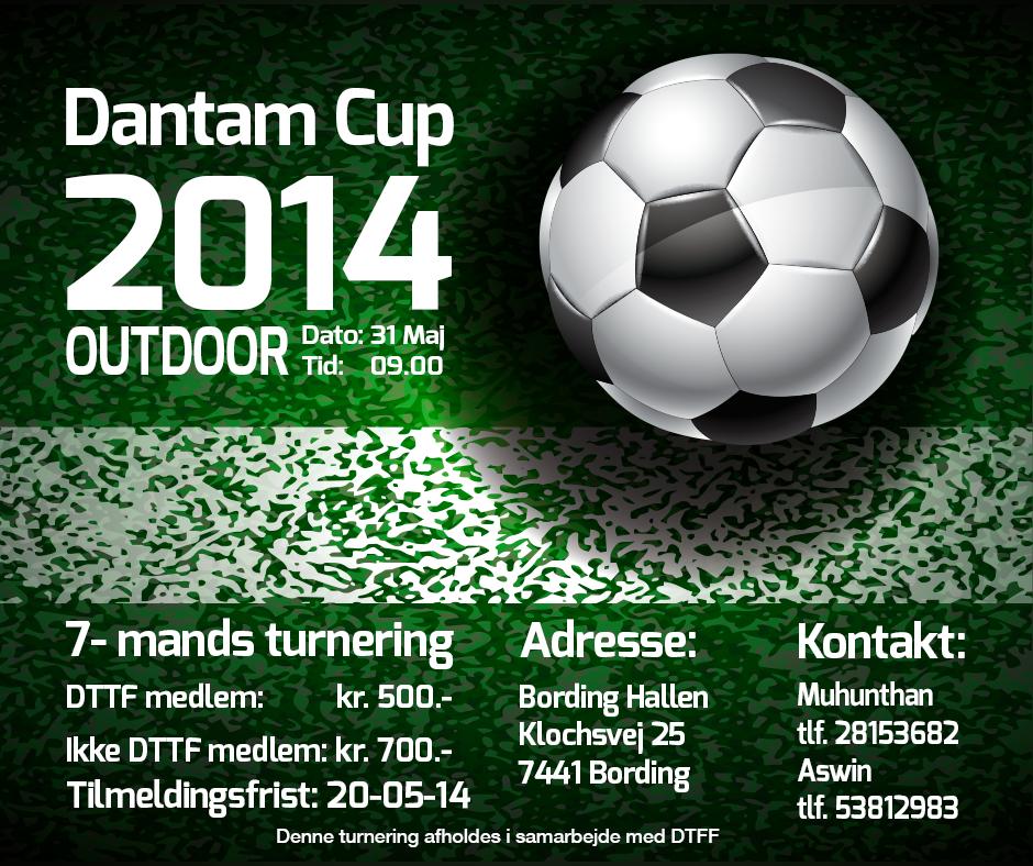 Dantam Cup Outdoor Poster