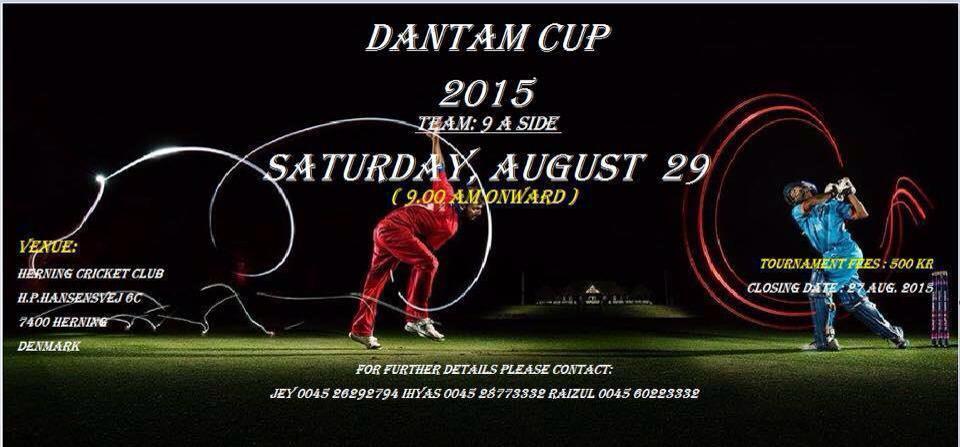 Dantam Cup 2015 Cricket