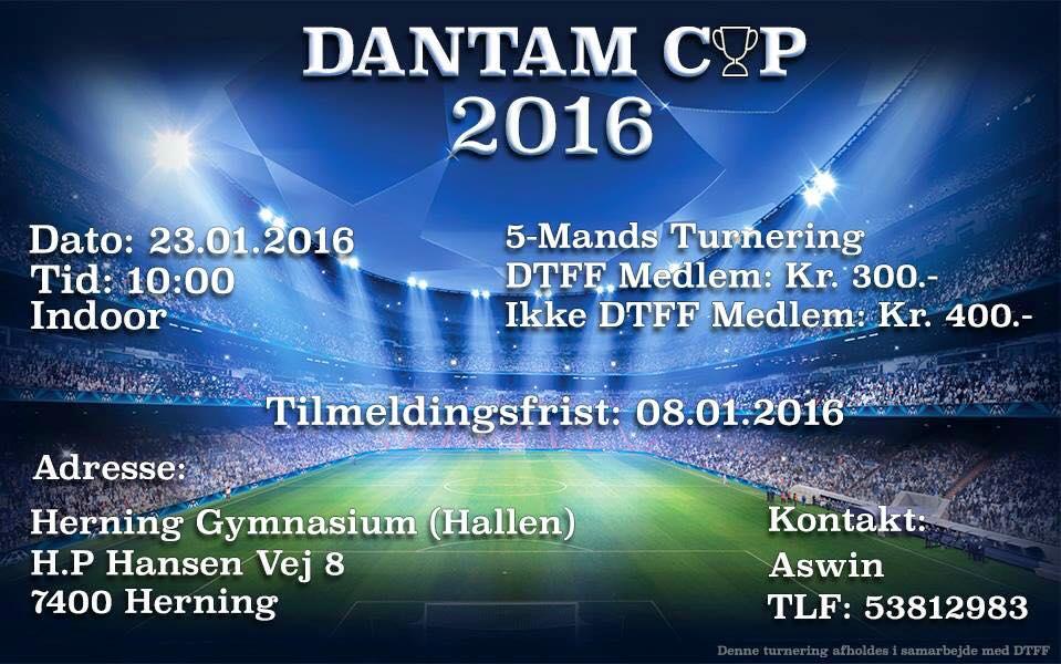 Fodbold Dantam Cup 2016